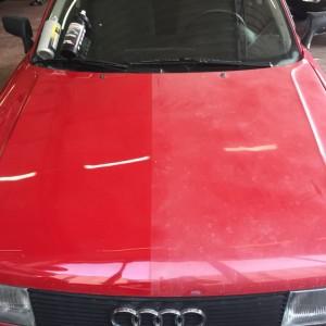 raudona auti poliravimas